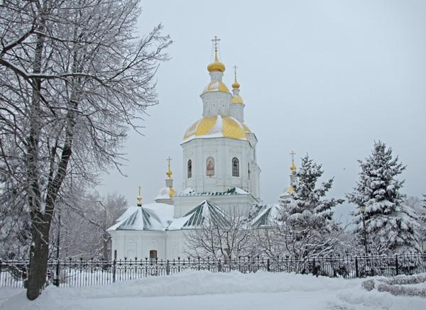 Казанская церковь Дивеевского